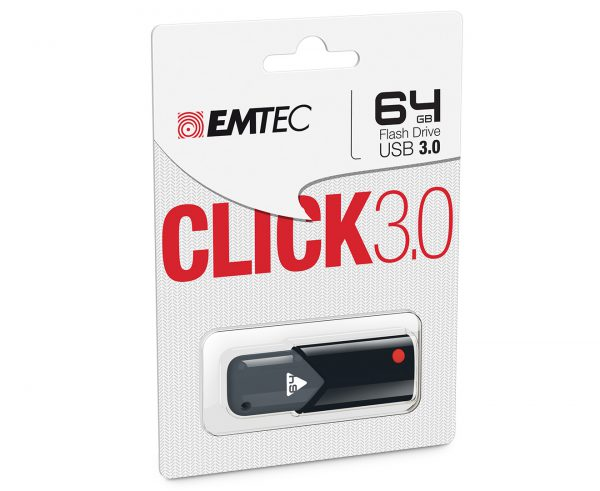 Emtec Click B100 64GB USB 3.0 Flash Drive1